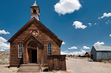 La chiesa del vecchio West