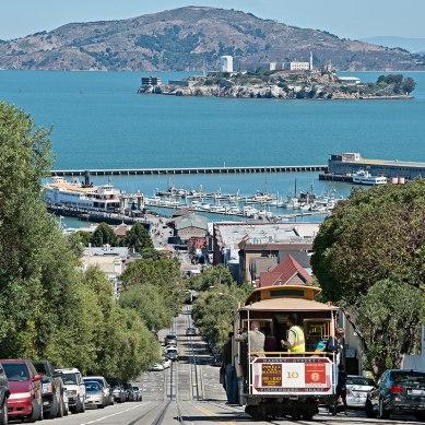 Discesa per Alcatraz