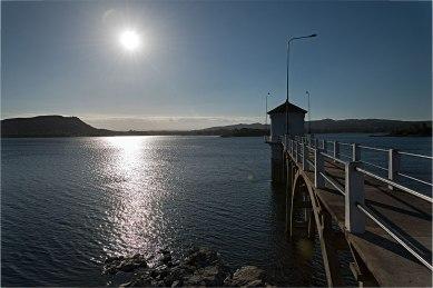 La pace sulla diga