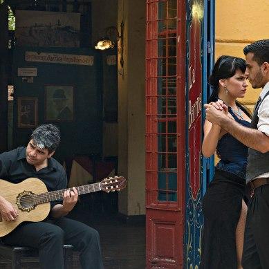 Tango, vino y arte